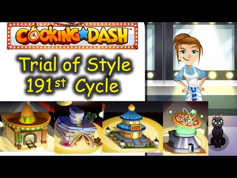 Time to remove the beard and Fancy Random Look, Flo. TOS 191st Cycle (Cooking Dash   Trial of Style)