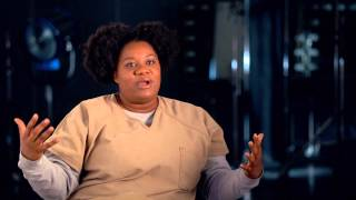 "Orange Is The New Black: Adrienne C. Moore ""Black Cindy"" Season 2 On Set TV Interview"