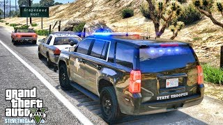 GTA 5 MODS LSPDFR 0.4 - TEXAS STATE TROOPER!!! (GTA 5 REAL LIFE PC MOD)
