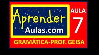 GRAM�TICA - AULA 7 - PARTE 1 - ADV�RBIOS: EXERC�CIOS. PREPOSI��O E CONJUN��O