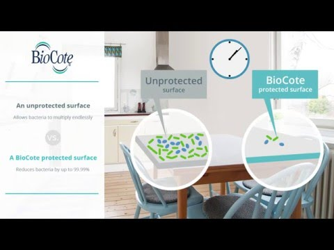 BioCote Antimicrobial Technology in Action