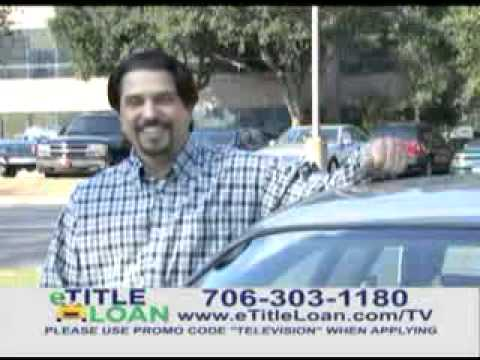 eTitle Loan-We Come to You!