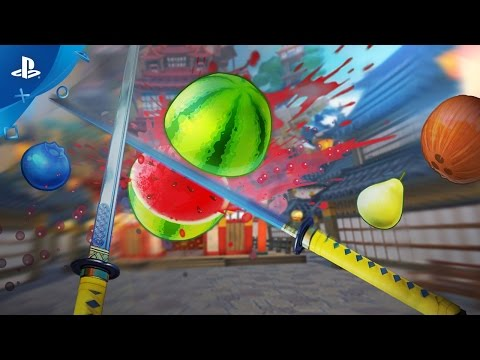 Fruit Ninja VR Trailer