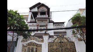 Biệt thự Vila Gò Vấp 16 tỷ - Biệt thự mặt tiền 9 x 18m tiện buôn bán tặng nội thất  khủng  đường 16m