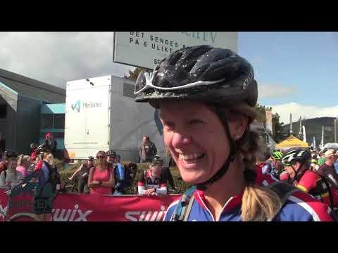 Birken Sykkelsfestival 2018: Fin stemning i målområdet
