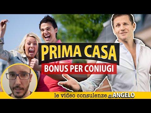 BONUS PRIMA CASA per coniugi    Avv. Angelo Greco