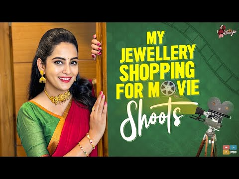 Himaja shares her jewellery shopping video for movie shoots