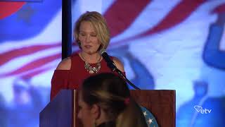 Catherine Templeton Introduces Steve Bannon at The Citadel