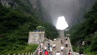 Tianmen Mountains - China (HD1080p)