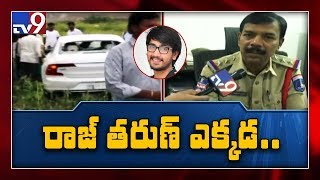 Narsingi police statement on hero Raj Tarun car accident..