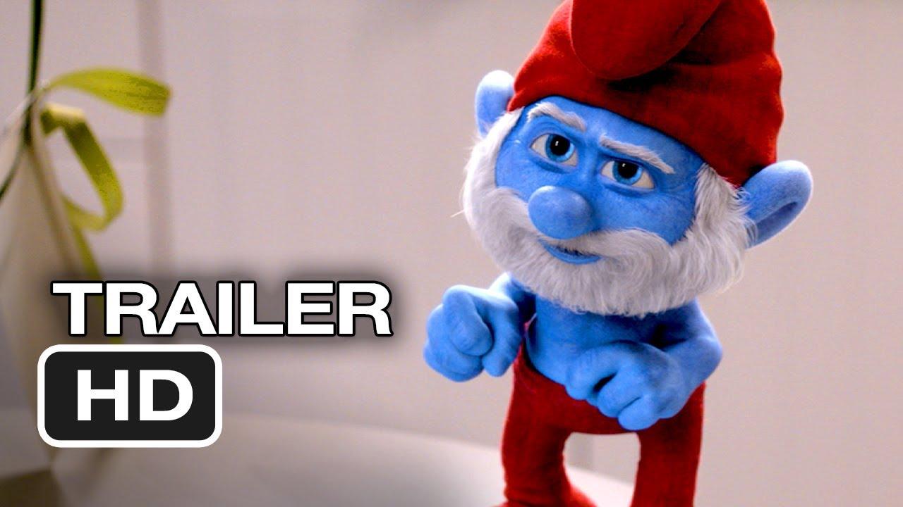 Smurfs 2 TRAILER 2 (2013) - Hank Azaria Animated Movie HD ...
