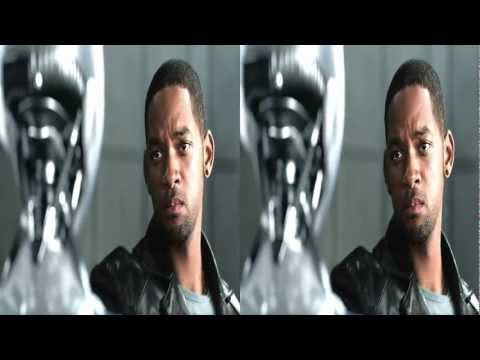 I,Robot in 3D HD 1080 (movie sample)