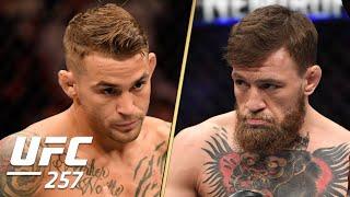Dustin Poirier vs. Conor McGregor 2 Walkouts   UFC 257   ESPN MMA