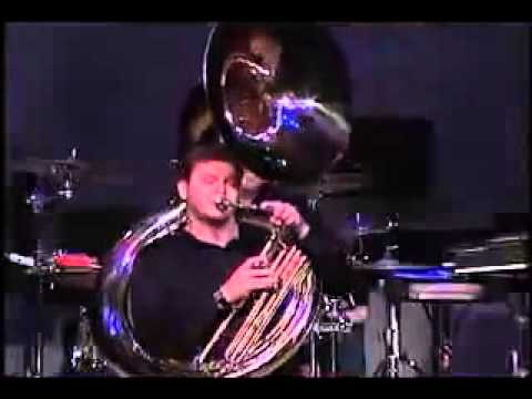 Sousaphone  Marching tuba  beatbox tool  and instrument of war