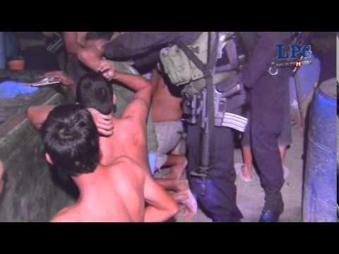 21 capturados en operativo policial en La Libertad