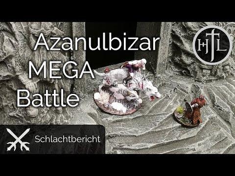 MEGA Battlereport - Schlacht im Schattenbachtal (Mittelerde Tabletop / Hobbit / Herr der Ringe)
