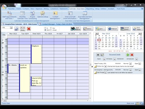 ImagineTime Calendar Training - Syncing Appointments