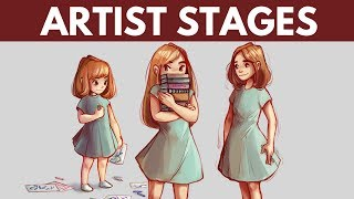 Stages of Being an Artist - My Art Journey (So Far)