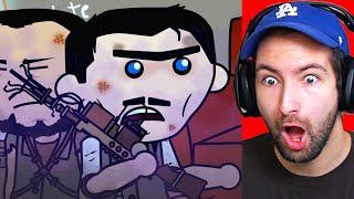 I'M IN A CALL OF DUTY ZOMBIES CARTOON!!