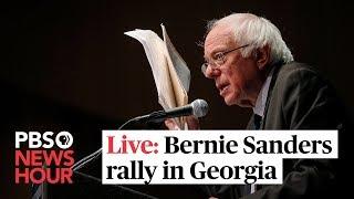 Watch Live: Bernie Sanders campaigns in Georgia