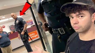 I ALMOST GOT ARRESTED FOR TRYING TO MOVE *cops called on me*