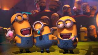 Little Minions singing the Happy Birthday Song Nursery Rhymes Kids Family Songs Educational