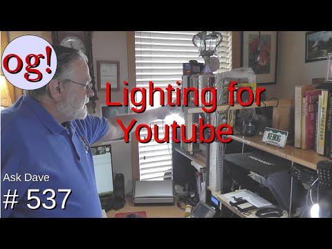Lighting for YouTube (#537)