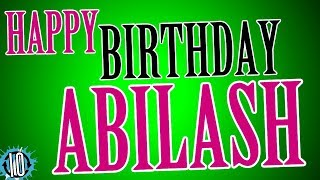 HAPPY BIRTHDAY ABILASH! 10 Hours Non Stop Music & Animation For Party Time #Birthday #Abilash