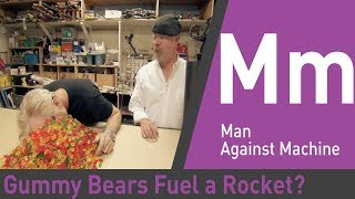 Can Gummy Bears or Poop Fuel a Rocket? | Mythbusters