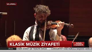 ULUSAL KANAL - Klasik müzik ziyafeti -10 MART 2018