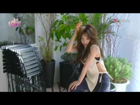 TAEYEON 태연 - Fine MV Behind The Scenes - 170307 arirangTV Pops In Seoul