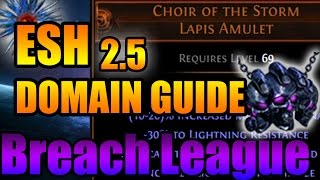 Path of Exile: Breachlord (Lightning) ESH - Boss Fight Guide 2.5 Breach League