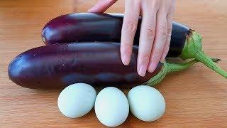 茄子不要炒著吃,加3個雞蛋,比吃紅燒肉還香,吃一次就忘不了! 【小穎美食】
