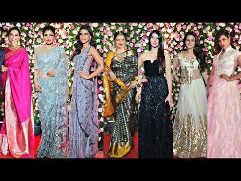Bollywood Actress At Kapil Sharma Wedding Reception