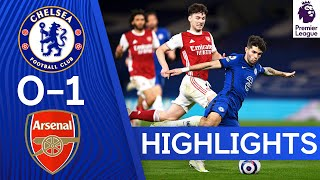 Chelsea 0-1 Arsenal | Premier League Highlights