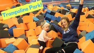 Fun at a Trampoline Park!