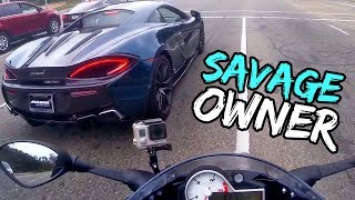 NOW THAT'S HOW YOU DRIVE A MCLAREN 570S!
