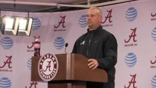 Coach Jeremy Pruitt  Q&A  8/7/16