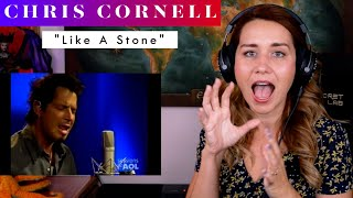 """Chris Cornell """"Like A Stone"""" REACTION & ANALYSIS by Vocal Coach / Opera Singer"""