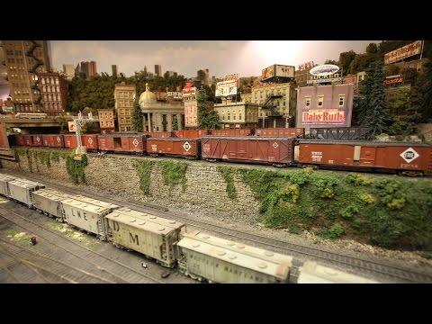Model železnice za 3 milióny dolárov
