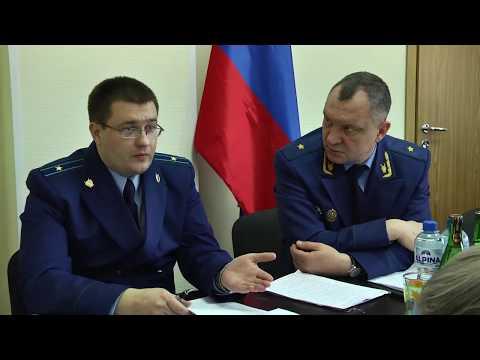 Прокурор Ленинградской области Борис Марков провел прием граждан в Подпорожье