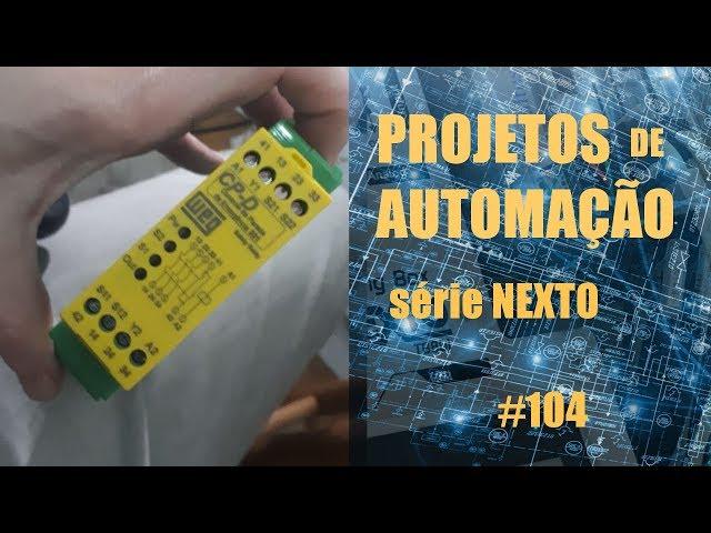 RELÉ MAGNÉTICO DE SEGURANÇA | Projetos de Automação #104
