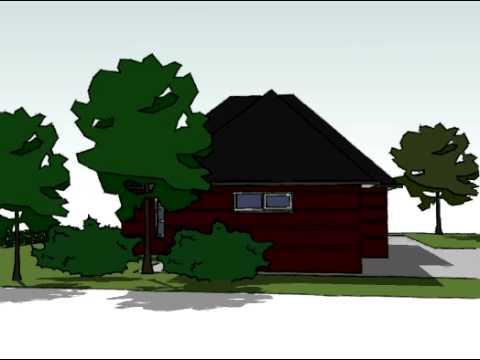 Voorbeeldplan nieuwbouw woningontwerp EB770
