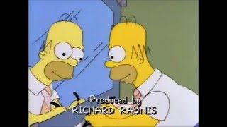 The Simpsons - Homer with glasses