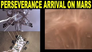 Perseverance Rover's Descent and Touchdown on Mars (Official NASA Video) (Reaction)
