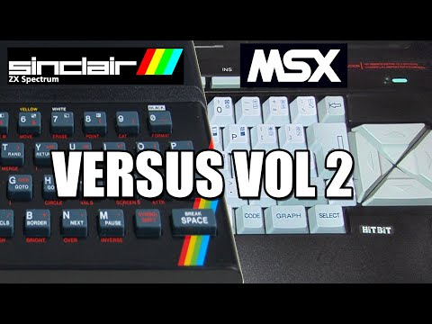 MSX VERSUS ZX SPECTRUM VOL 2