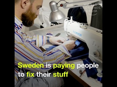 Sweden is paying people to fix their stuff instead of throwing it away
