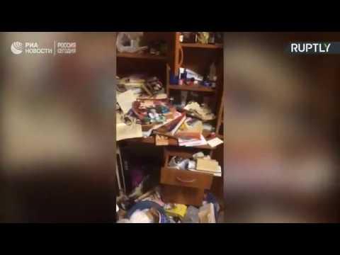 Квартира супругов из Краснодара, подозреваемых в каннибализме