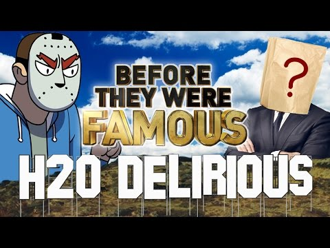 H2O DELIRIOUS - Before They Were Famous - FACE REVEAL ???