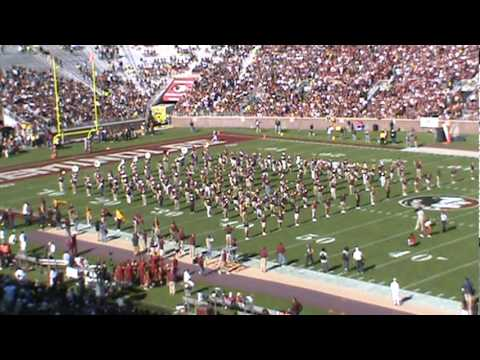 Performance by the Marching Band Alumni. 2010 FSU vs NC Nov 6th. - June's Winner